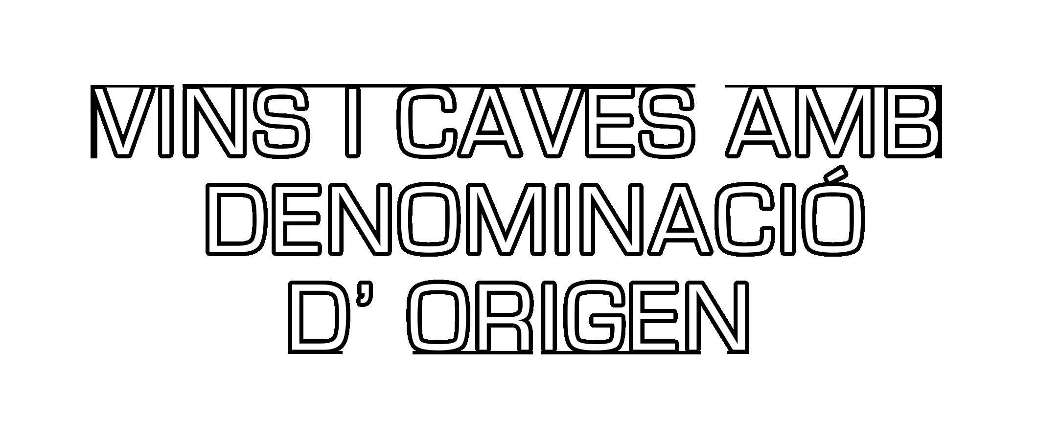 vins i caves amb denomincio d'origen